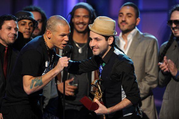 En 2011 Calle 13 se llevó este reconocimiento gracias a 'Latinoamérica'.