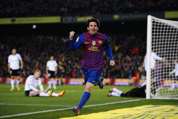 Lionel ya sumaba su segundo tanto de este partido y volvía a ser el líde...