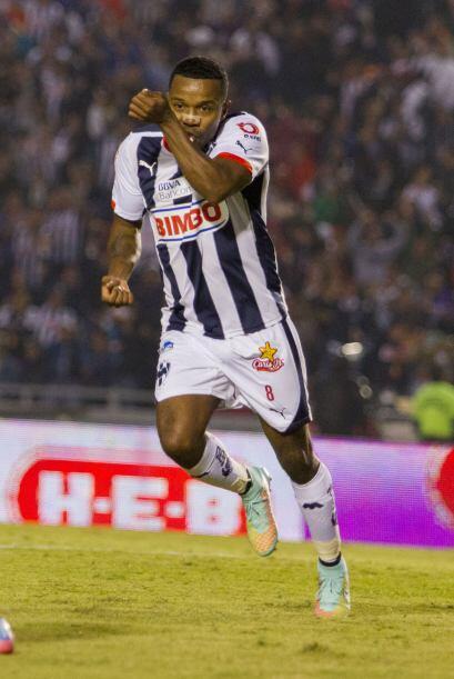 Pabón, atacante del Monterrey, se fue expulsado en la Jornada 16 por lo...