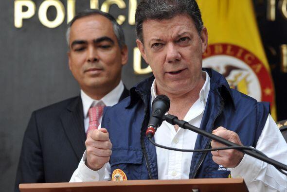 El mandatario colombiano se mostró con dureza al afirmar que 'este es el...
