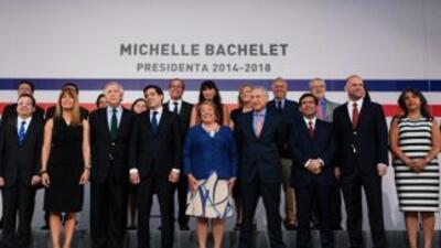 El nuevo gabinete de Michelle Bachelet.