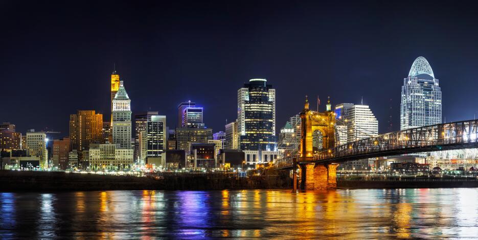Cincinnati, en Ohio, es la segunda ciudad más asequible de EEUU.