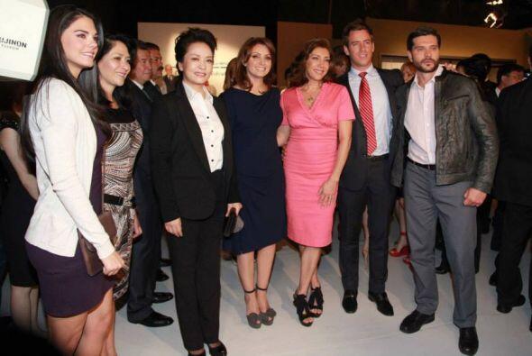 Angélica Rivera visitó las instalaciones de Televisa San &...
