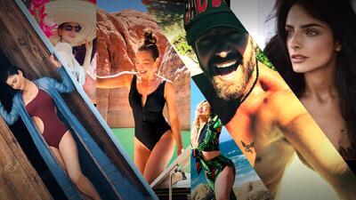 Los famosos presumen pierna y romances en sus vacaciones