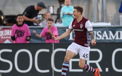 Josh Gatt gol Colorado Rapids vs. Real Salt Lake