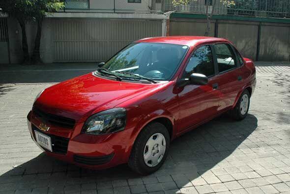 El Chevy es un auto ya clásico en las calles de México, candidato perfec...