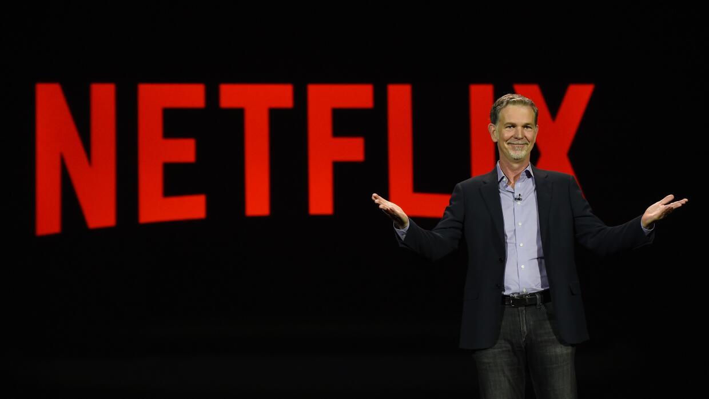 El CEO de Netflix, Reed Hastings
