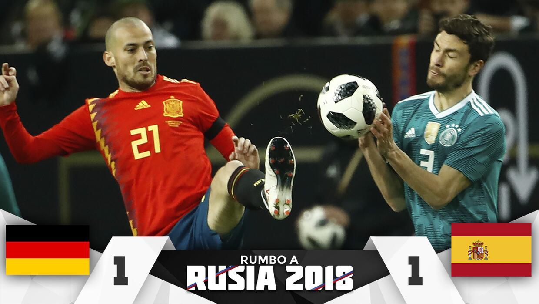 Alemania vs España