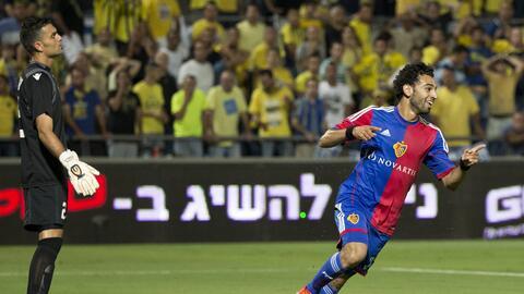 El egipcio jugó dos temporadas con el Basel, donde destacó por su juego...