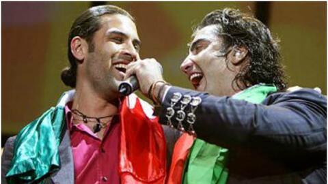 15 años de íntima amistad entre Alejandro Fernández...