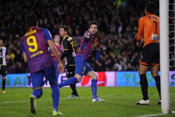 Fábregas se acopló a la perfección en el conjunto de Guardiola.