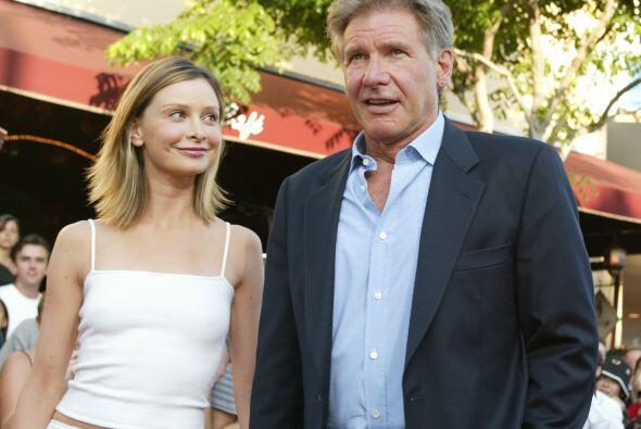 Calista Flockhart y Harrison Ford Se conocieron en 2002 pero la boda fue...