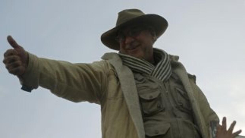 El activista mexicano Javier Sicilia.