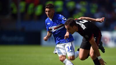 Sampdoria vence al Milán con aporte sudamericano