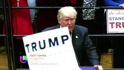 Crece violencia en manifestaciones de Trump