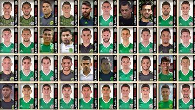 Dan a conocer la lista preliminar de México para la Copa América Centenario