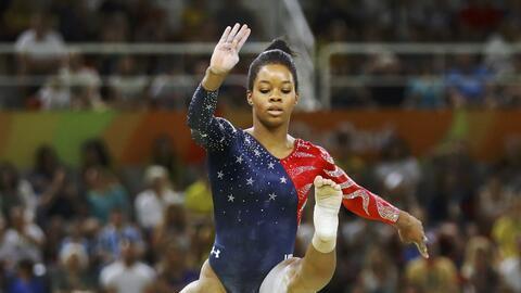 Gabby Douglas es doble campeona olímpica (concurso abierto y por...