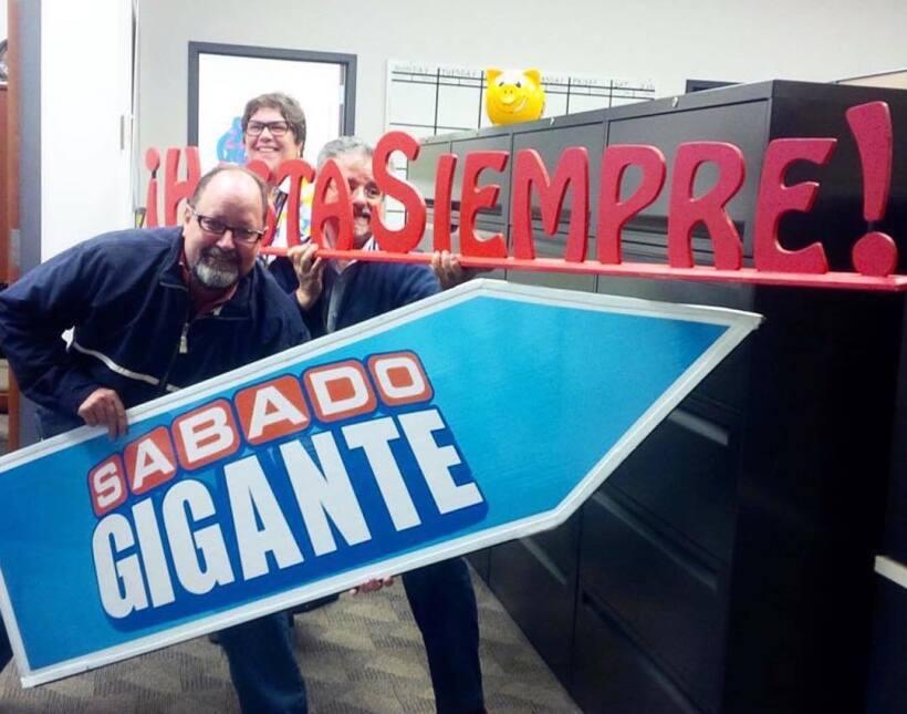 Las mejores fotos de la despedida de Sábado Gigante en las redes sociales.
