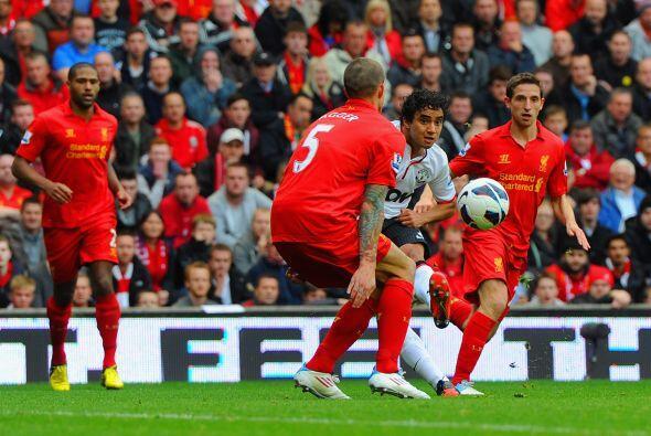 Porque fue toda una muralla en la defensa ante el Liverpool, tras no dej...