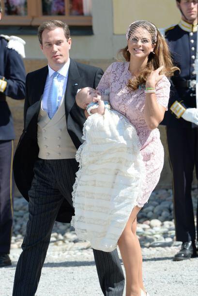 Es la primera vez que la princesa Leonor se encuentra en Suecia desde su...