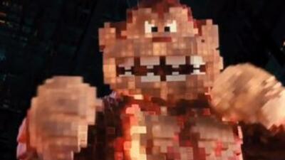 Pixels Trailer 2 Slider