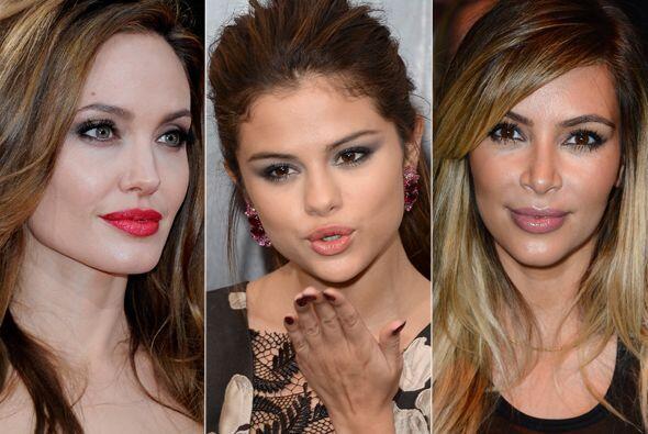 Como para darles un buen beso, estas celebridades tienen las boquitas má...