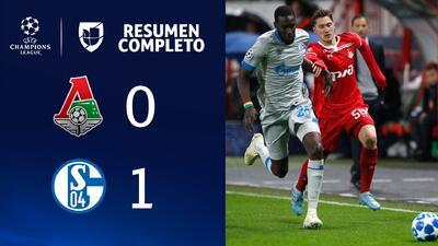 Lokomotiv 0-1 Schalke 04 - GOL Y RESUMEN - Grupo D UEFA Champions League