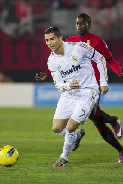 El equipo 'merengue' salió con todos sus titulares frente al Mallorca.