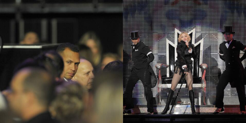 Madonna y Alex Rodriguez