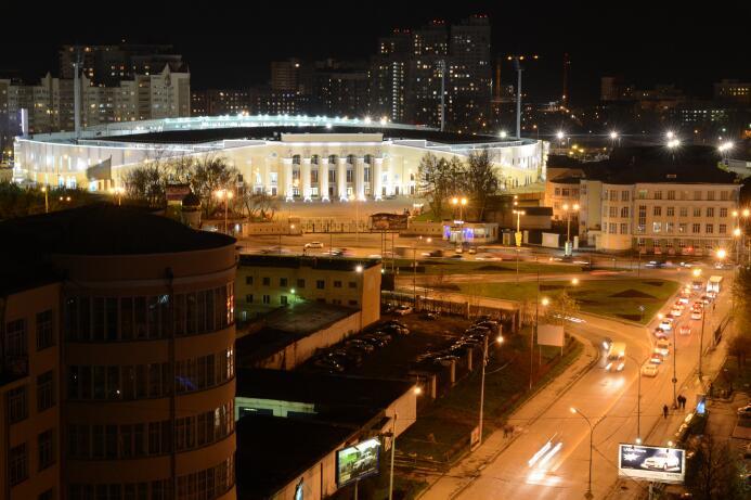 El Estadio Central de Ekaterimburgo, el extraño escenario que recibirá e...