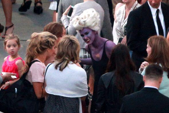 Rumer se disfrazó de Ursula de 'The Little Mermaid'.