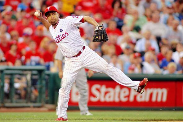 3. Placido Polanco, tercera base, Phillies de Filadelfia, 3,261,718 votos.