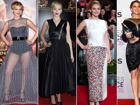 La belleza de Jennifer Lawrence algunas veces es opacada por ¿sus...