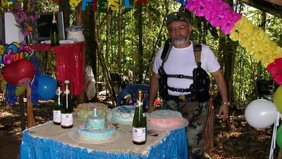 Olga Cecilia Vega presenció la celebración de un cumplea&n...