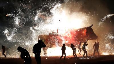 Tultepec se ilumina con su tradicional festejo anual, a pesar de los recientes accidentes