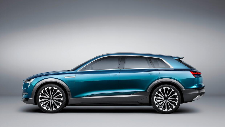 Audi e-tron quattro concept del Auto Show de Frankfurt 2015