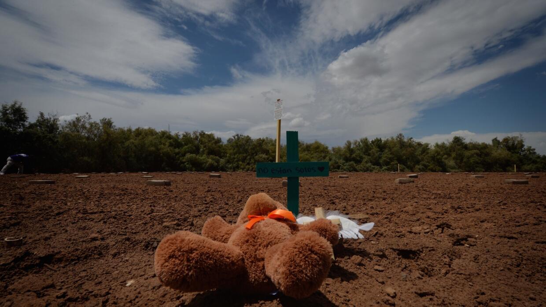 Muertos en la frontera de México y EEUU
