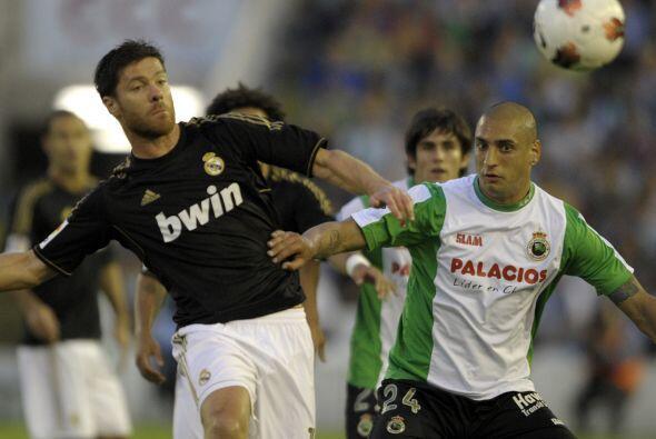 Era turno del Real Madrid que se metía a casa del Racing de Santa...