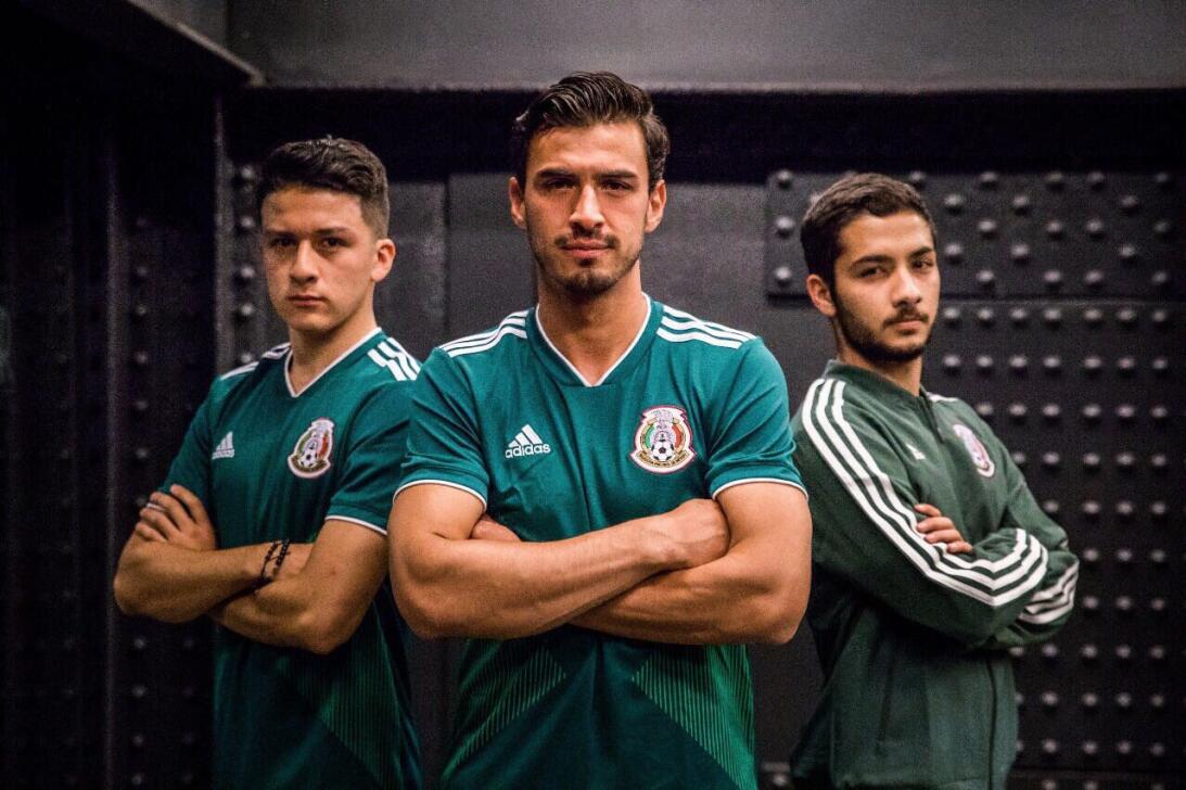 Adidas presentó los nuevos uniformes para el Mundial de Rusia 2018 dnrip...