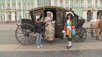 Carlos Calderón regresó en el tiempo para conocer el San Petersburgo de antaño