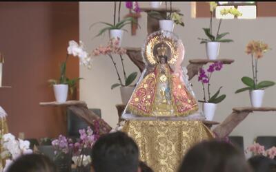 La Virgen de Zapopan llega en su peregrinación al sur de California