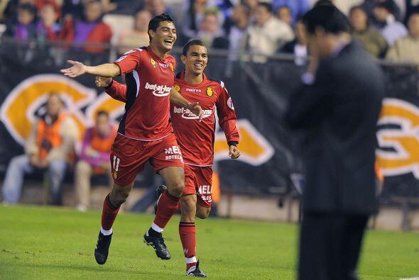 El 'Chori' hizo dos goles para darel ventaja al visitante.