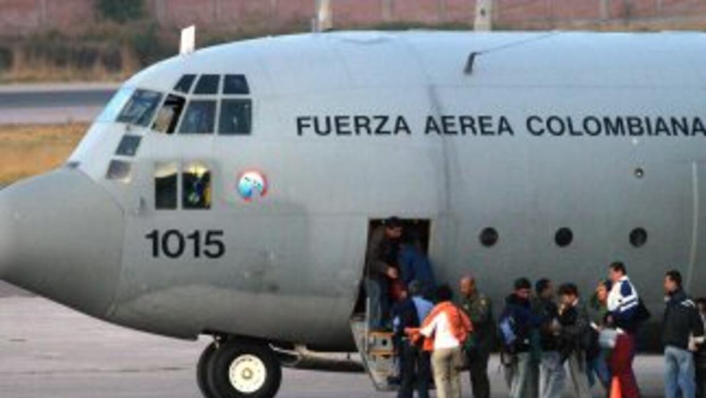 Avión de la Fuerza Aérea Colombiana. (Imagen de Archivo).
