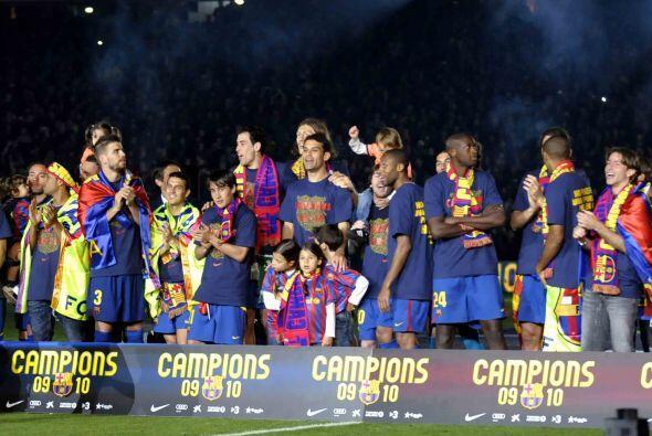 Comenzarán los rumores, pero mientras tanto Barcelona es el merecido bic...