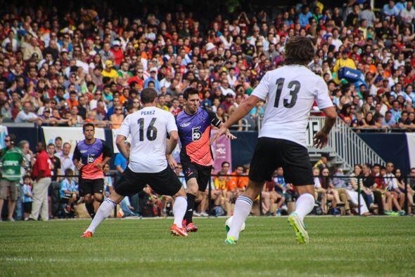 Un espectáculo lleno fútbol y muchos goles fue el brindado por el mejor...