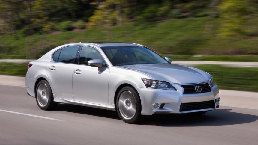 Estos son los autos más confiables de Estados Unidos Lexus-GS_350-2013-1...