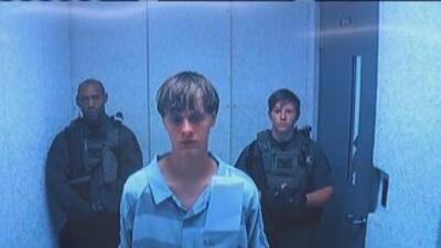 Así apareció el agresor de Charleston ante las cámaras.