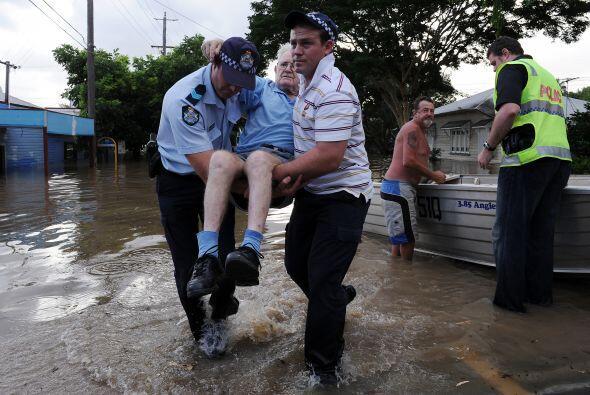 Las inundaciones que golpean el noreste de Australia desde noviembre tra...