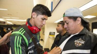 Alan Pulido quiere seguir en Tigres en plan goleador como en el Tri.