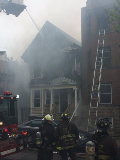 Incendio en Lakeview